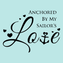 Navy Wife anchor-by-my-sailor T-Shirt