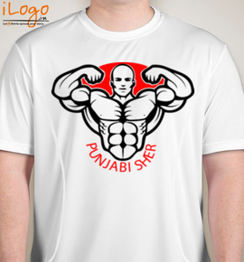 punjabi sher - Blakto Sports T-Shirt