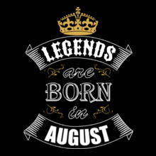 Legends are Born in August Legends-are-born-in-august T-Shirt