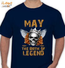 Legends are Born in May LEGENDS-BORN-IN-MAY-.-. T-Shirt