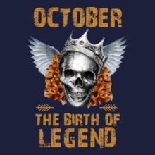 LEGENDS-BORN-IN-OCTOBER-.-. T-Shirt