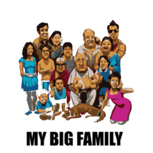 My-big-family T-Shirt