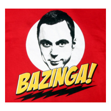 Sheldon-Bazinga T-Shirt