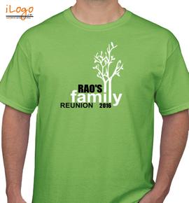 Rao%s reunion - T-Shirt