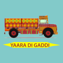 Punjabi yaara-di-gaddi T-Shirt