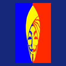 Punjabi face-with-pagdi T-Shirt