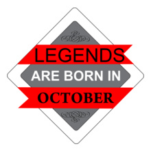 Legends are Born in October LEGENDS-BORN-IN-OCTOBER-..-. T-Shirt