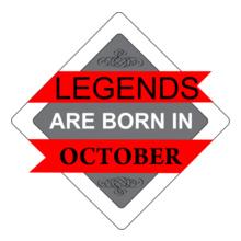 Legends are Born in October LEGENDS-BORN-IN-OCTOBER-..-. T-Shirt