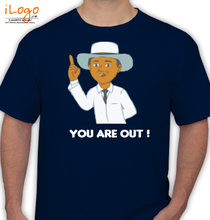 Cricket  You-are-out T-Shirt