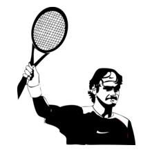Tennis federer T-Shirt