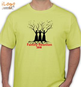 tree family reunion - T-Shirt
