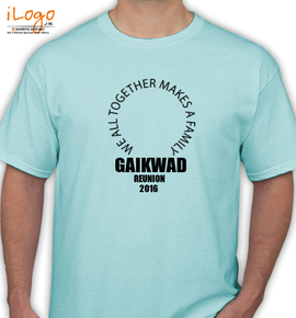 GAIKWAD FAMILY - T-Shirt