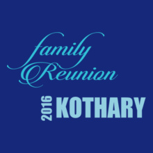 Family Reunion KOTHARY-FAMILY T-Shirt