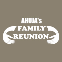 Family Reunion ahuja-family-with-hand T-Shirt