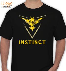 instinct - T-Shirt