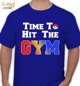 time to gym - T-Shirt