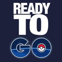 Pokemon Go ready-to-go T-Shirt