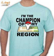 Pokemon Go chamion-of-region T-Shirt