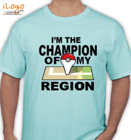 chamion of region - T-Shirt