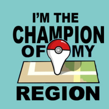 Pokemon Go chamion-of-region T-Shirt