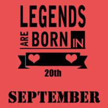 Birthday LEGENDS-BORn T-Shirt