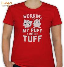 Pokemon Go my-puff-into-tuff T-Shirt