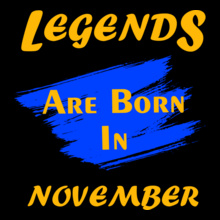 Legends are Born in November Legends-are-born-in-November%B T-Shirt