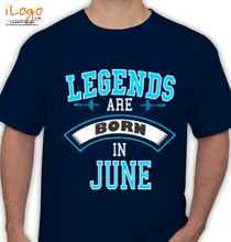 Legends are Born in June LEGENDS-BORN-IN-JUNE.-.-. T-Shirt