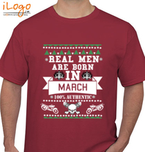 Legends are Born in March LEGENDS-BORN-IN-MARCH..-.. T-Shirt