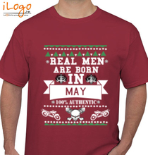 Legends are Born in May LEGENDS-BORN-IN-MAY..-.. T-Shirt
