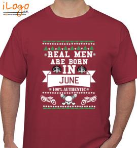 LEGENDS BORN IN JUNE.. .. - T-Shirt
