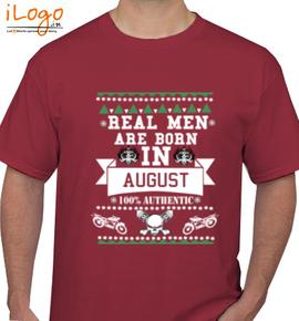LEGENDS BORN IN AUGUST.. .. - T-Shirt