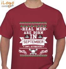 Legends are Born in September LEGENDS-BORN-IN-SEPTEMBER..-.. T-Shirt