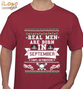 LEGENDS BORN IN SEPTEMBER.. .. - T-Shirt