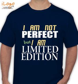 i-am-not-perfect - T-Shirt