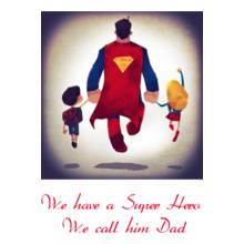Ramya Super-Dad T-Shirt