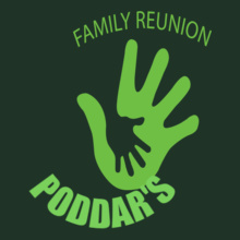 Family Reunion PODDARS-HAND T-Shirt