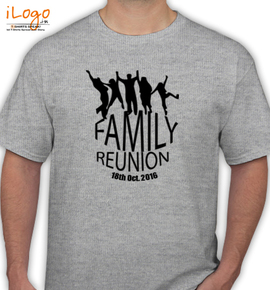 family reunion withr a group - T-Shirt