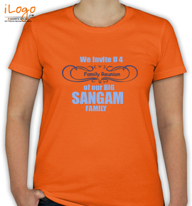SANGAM FAMILY - T-Shirt [F]