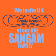 Family Reunion SANGAM-FAMILY T-Shirt