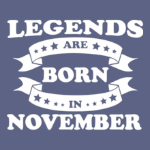 legends-are-born-in-November T-Shirt