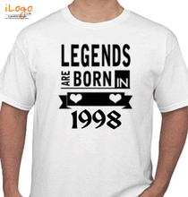 Legends are Born in 1998 legends-are-born-in- T-Shirt