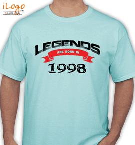 legend are born in %C.%C - T-Shirt