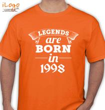 Legends are Born in 1998 legend-are-born-in-%C%C. T-Shirt