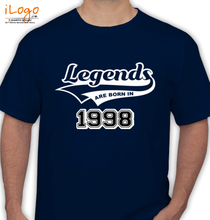 Legends are Born in 1998 T-Shirts