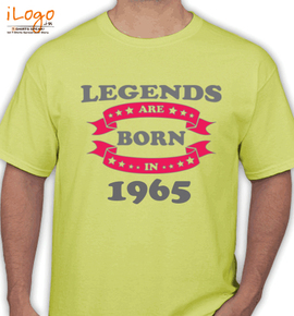 Legends-are-born-in- - T-Shirt