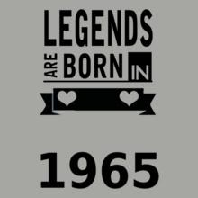 Legends are Born in 1965 Legends-are-born-in-. T-Shirt