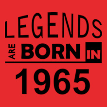 Legends are Born in 1965 Legends-are-born-in-%C T-Shirt