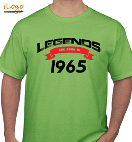 Legends are born in .. - T-Shirt