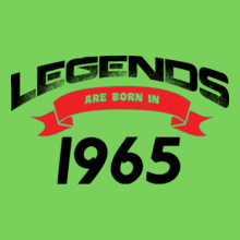 Legends are Born in 1965 Legends-are-born-in-.. T-Shirt